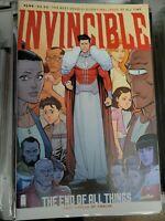 Invincible #144 Final Issue Robert Kirkman Image Comics Low Print Run NM/NM+