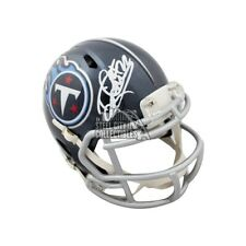 Derrick Henry Autographed Tennessee Titans Speed Mini Football Helmet - BAS COA