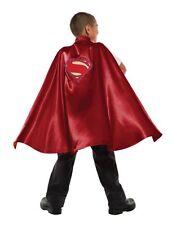 Boys Superman Cape Red Cape Halloween Costume Batman v Super Man Child Kids NEW