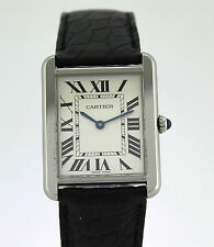 CARTIER THANK SOLO MEN STAINLESS STEEL 2715 COMPLETED