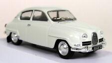 Atlas 1/43 Scale - 002 Saab 96 1964 White Diecast model Car