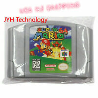 Super Mario 64 USA Version Video Game Cartridge Console Card For Nintendo N64