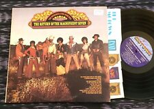 LP Supremes and the Four Tops 1971 NM Return Of The Magnificent Seven Spinners