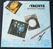 YACHTS-YACHTS WITHOUT RADAR-PD-1-6720-POWER POP,NEW WAVE-1980-SEALED LP