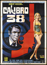 CALIBRO 38 MANIFESTO CINEMA FILM L'HOMME QUI TRAHIT LA MAFIA MOVIE POSTER 2F