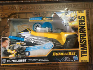 Transformers Bumblebee Stinger Blaster Discontinued New In The Box Rare!