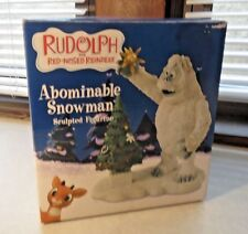 RUDOLPH Abominable Snowman Figurine #4002070 NEW in box star tree