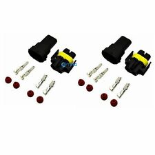 2x H8 H11 880 881 Male & Female Adapter Wire Connector  For Headlight/Fog Light