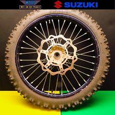 2001 Suzuki RM125 RM250 Front Wheel Rim Hub Spokes Tire 01 02 03 04 05