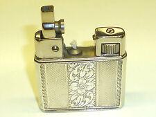 WELTZÜNDER (KREMER & BAYER) POCKET LIGHTER W. 835 SILVER CASE - 1939 -GERMANY
