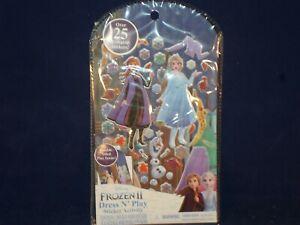 New Disney Frozen 2 Dress N Play Princess Puffy Sticker Activity Kit         C14