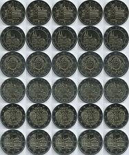 Deutschland 2 Euro Gedenkmünze (2010 - 2013, ADFGJ), unzirkuliert/bankfrisch