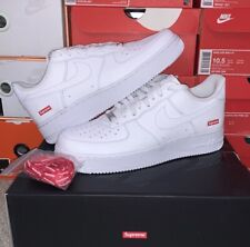Supreme x Nike Air Force 1 Low - White, UK7/US8
