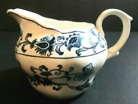 Ming Tree Double Phoenix Ironstone Nikko Japan Blue and White Floral Creamer