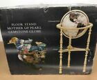 """NIOB Alexander Kalifano Gold Mother of Pearl Floor 34"""" Globe Extremely Rare"""