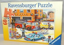 RAVENSBURGER Police and Fire Department Ambulance Jigsaw Puzzles 60 pcs
