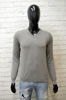 Maglione Uomo Calvin Klein Jeans Taglia XS Cardigan Pullover Sweater Felpa Lana