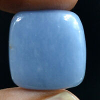 Cts. 20.55 Natural Intriguing Angelite Square Cabochon Cab Loose Gemstone