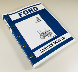 FORD NEW HOLLAND 1320 1520 1720 TRACTOR SERVICE MANUAL TECHNICAL REPAIR SHOP