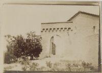 Casa Arquitectura Fotografía Original Vintage Citrato Aprox 1900 ND81