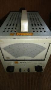 Messgerät Millivoltmeter VEB URV 3-2 RFT 0,3...300 (1000) MHz Röhrenvoltmesser 2