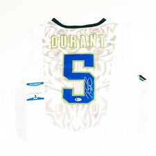 KEVIN DURANT Signed Autographed 2012 Team USA Jersey Beckett COA