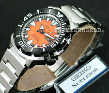 SEIKO SPORTS AUTOMATIC ORANGE MONSTER DIVER'S 200M STEEL WATCH SRP315 SRP315K2
