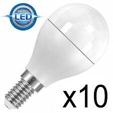10 x LED de ahorro de energía Pelota De Golf Bombilla 4.6 w Tapa A Rosca ses E14 25w/40w s8225