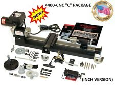 "SHERLINE 4400C-CNC CNC READY LATHE (INCH) + ""C"" PACKAGE (METRIC SEE 4410C-CNC)"