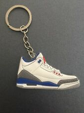 Sneaker Basketball Key Chain Keyring True Blue Bred Toro Cement DB MVP OREO NY