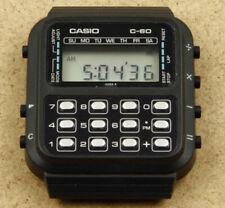 Casio C-60 Vintage Digital Calculator Chrono Watch New Old Stock