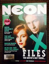 British Neon magazine with X-Files cover story - September 1998 - Super rare!