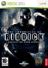 The Chronicles Of Riddick Assault On Dark Athena XBOX 360 IT IMPORT ATARI
