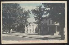 Postcard SPRINGVILLE New York/NY  Baptist Church & Parsonage view 1910's