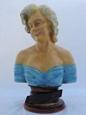 Rare  statue buste vintage résine Marilyn Monroe      65 cm
