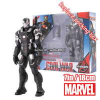 War Machine Marvel Avengers Legends Comic Heroes 7in Action Figure Boy Kids Toy