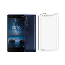 New For Nokia 8.1 Screen Protector Cover Guard - [3 Pack - Hd Clear] - Glossy