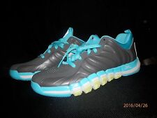 ADIDAS Derrick Rose Englewood ll GRAY TEAL YELLOW BASKETBALL SNEAKER SZ 10.5 NEW