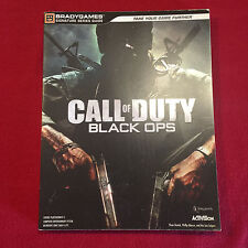 Call of Duty Black Opps Strategy Game Guide Book Brady Games Signature Series