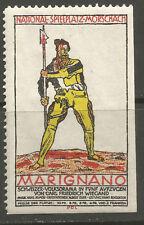 Switzerland/Morschach Marignano (Theatre/Play) poster stamp/label (German text)