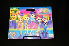 Lisa Frank Artist Pad:8 pk Crayola Crayons Stickers 2007 out-of-print Color Book