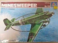 Italeri No. 126 1/72 Minesweeper Ju-52/3 model Airplane