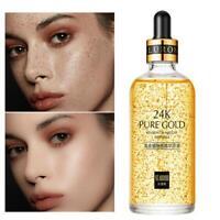 24k Gold Facial Skin Care Anti-Wrinkle Face Essence Serum Cream 15/50/100ml