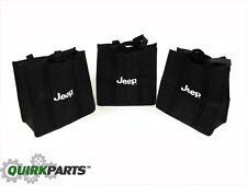 14-19 Jeep Cherokee Reusable Shopping Bags SAVE THE ENVIRONMENT NOW MOPAR OEM