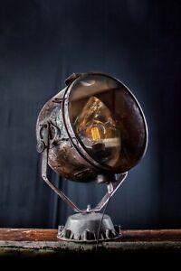 Loft  Lampe Scheinwerfer Industrie Vintage Strahler Metal XXL Spot