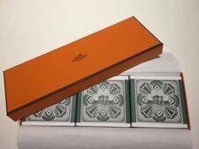 HERMES - EAU De Gentiane Blanche - Perfumed BAR SOAP 3.5 oz /100g *BRAND Set 3