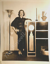 Happy Birthday Vet Boswell Original 8x10 Art Deco Photo 1935