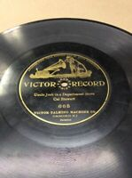 """1904 Victor Record 10"""" 78rpm Josh In Department Store #665 FREE SHIPPING B50S23"""