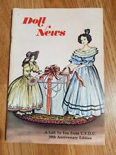 Doll News UFDC Magazine - 30th Anniversary Issue - 1980