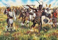 Italeri 1/72nd Scale Zulu War Zulu Warriors Plastic Figures Set 6051 New In Box!